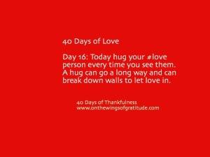 40daysofLove_Day16