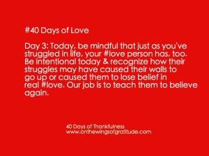 40daysofLove_Day3