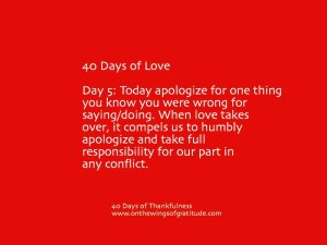 40daysofLove_Day5
